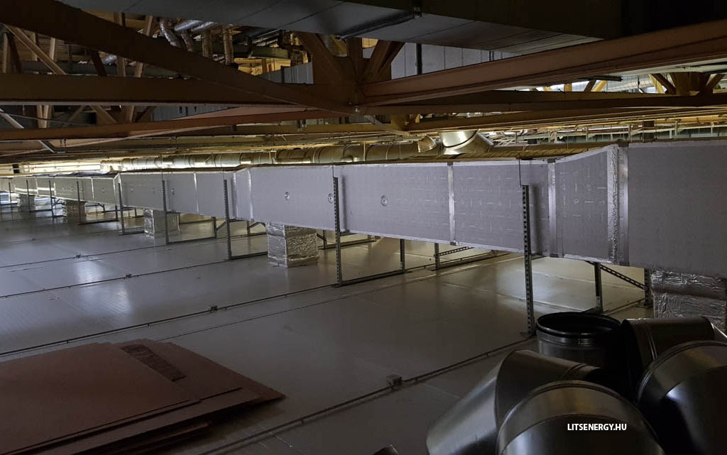 Légtechnika Székesfehérváron a Lits Energy Kft-vel