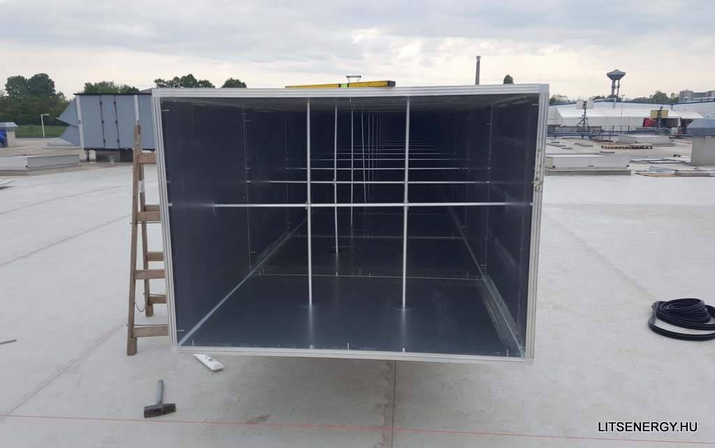 Az ALPsystem.hu által gyártott légcsatorna elemek